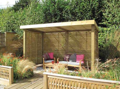 De tuin for Garden sit out designs